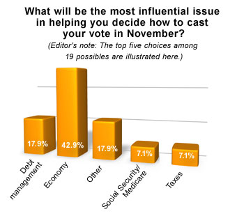 Voting issues chart